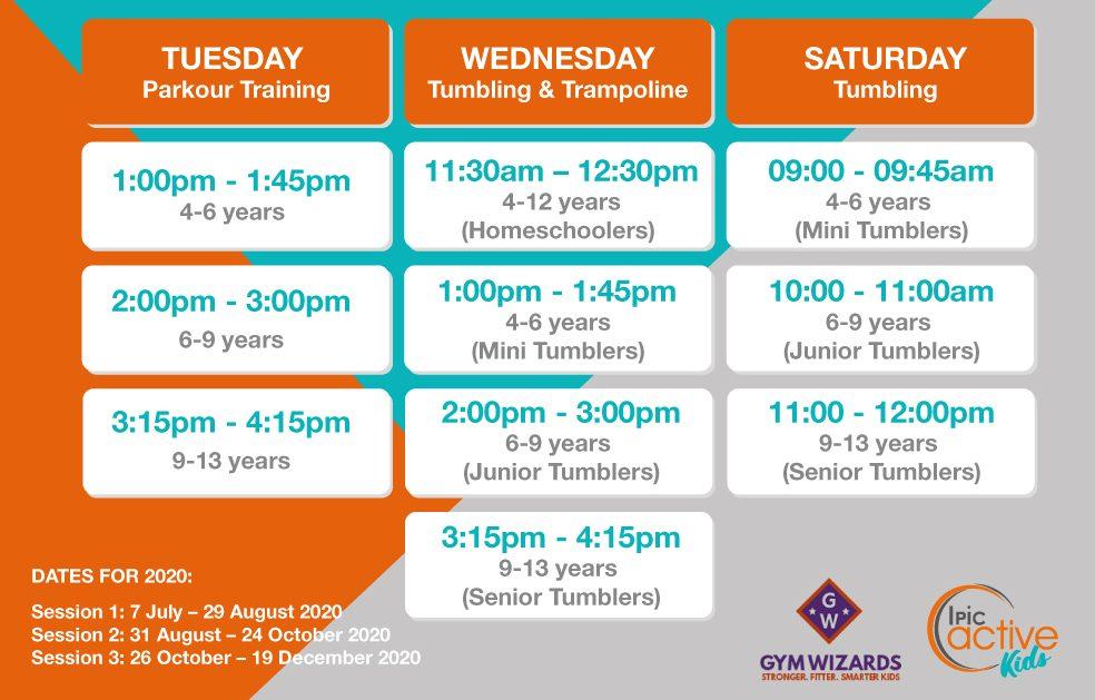 Schedules-Gym-Wizards